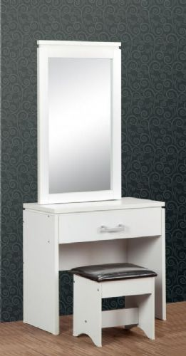Charles Dressing Table Set WHITE